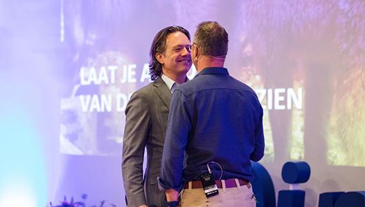 Patrick van Veen en Otto Thors