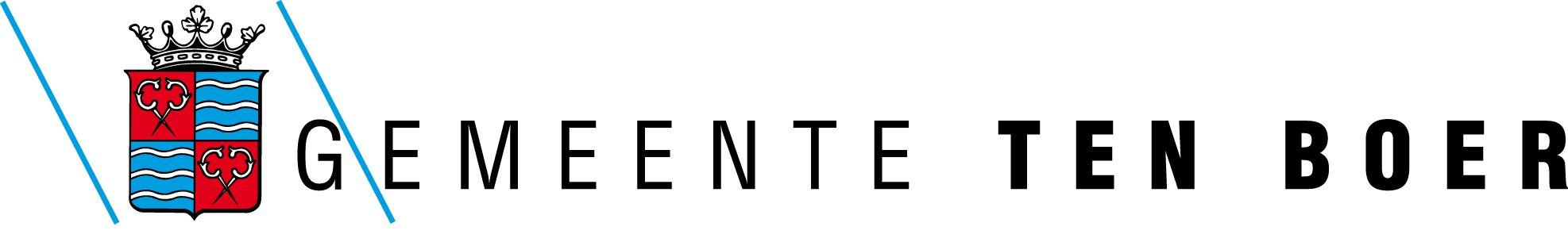 Logo van gemeente Ten Boer