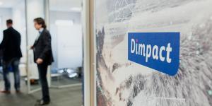 Logo muur Dimpact